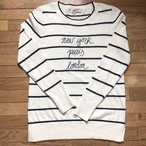 Ann Taylor Loft Jettsetter Sweater Medium SOLD OUT